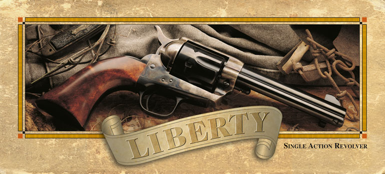 Liberty Pistol Package Design